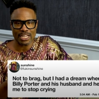 VIDEO: Billy Porter Shares Tweet Dreams on THE LATE LATE SHOW