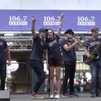 Broadway Rewind: Nobody Can Stop BANDSTAND at Broadway in Bryant Park! Video