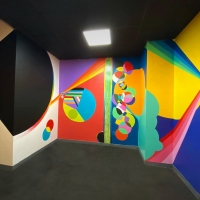 Art House Productions Announcedthe Completion of Its First Commissioned Mural Photo