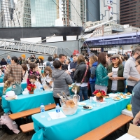 TASTE OF THE SEAPORT on Saturday, October 19th at Pier 16 and 17 Benefits P.S. 343 and P.S. 397