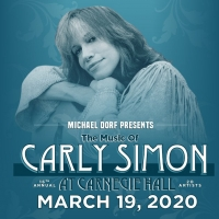 The Music of Carly Simon Announces Initial Lineup Photo