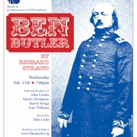 Theatre 40 Presents Play-Reading of BEN BUTLER Photo