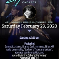 Island City Stage Hosts 4th Annual Signature Cabaret with Christine Pedi