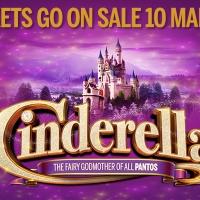 CINDERELLA at the Darlington Hippodrome Tickets On Sale 10 March