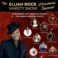 BWW Feature: Celebrate with ELIJAH ROCK VARIETY SHOW CHRISTMAS SPECIAL Streaming Onli Photo