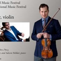 Violinist Nikolaj Szeps-Znaider Performs At InterHarmony Festival In Germany In August
