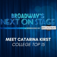 Meet the Next on Stage Top 15 Contestants - Catarina Kirst Photo