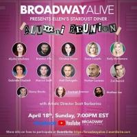 Broadway Alive Presents The Ellen's Stardust Diner Alumni Reunion Tonight Photo