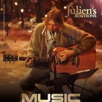 Kurt Cobain's 'MTV Unplugged' Guitar to Headline Julien's Auctions Music Icons Photo