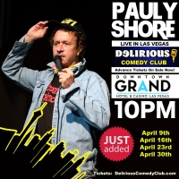 Pauly Shore Returns To Delirious Comedy Club Las Vegas All Month Long Photo