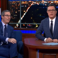 VIDEO: Watch Maybe Coming Soon With John Oliver on THE LATE SHOW WITH STEPHEN COLBERT Photo