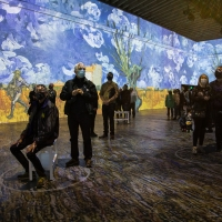 Immersive Van Gogh San Francisco Announces Collaboration With Villa San Francisco Photo