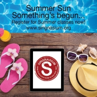 Singnasium Announces Summer Online Classes Photo