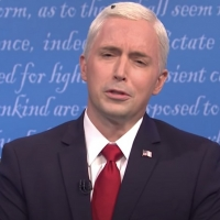 VIDEO: SATURDAY NIGHT LIVE Tackles the Vice Presidential Debate, and the Fly on Mike Pence's Head