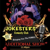 Jokesters Comedy Club Las Vegas Adds Additional Shows For Valentine's Day Photo