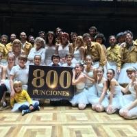 BILLY ELLIOT celebra 800 funciones en Madrid