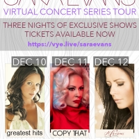 Sara Evans Set for 3 Night Unique Virtual Concert Series with VYE Photo