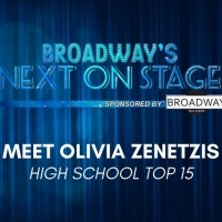 Meet the Next on Stage Top 15 Contestants - Olivia Zenetzis