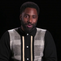 VIDEO: John David Washington Talks About Moving Back in With His Parents on THE LATE  Photo