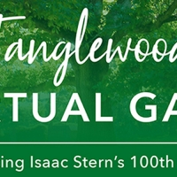 Tanglewood Gala Goes Online To Honor Isaac Stern And Raise Needed Funds Photo