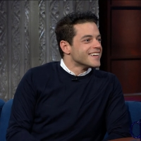 VIDEO: Watch Rami Malek Talk About Kissing Daniel Craig on THE LATE SHOW WITH STEPHEN COLBERT