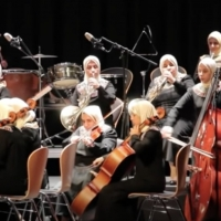 Egyptian Al Nour Wal Amal Orchestra Consists of Only Blind and Visually-Impaired Wome Photo