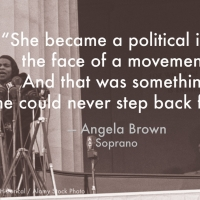 Soprano Angela Brown Interviewed in New Marian Anderson PBS Documentary, Voice Of Freedom Photo