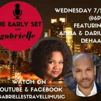 Aisha And Darius DeHaas Join THE EARLY SET With Gabrielle Stravelli! Photo