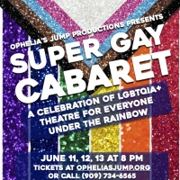 SUPER GAY CABARET Opens June 11 at Ophelia's Jump Photo