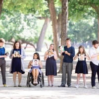 The Hopeful Theatre Project Presents 'I Have A Dream' For Make-A-Wish Photo