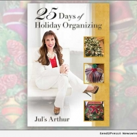 Jul's Arthur Releases New Book 25 DAYS OF HOLIDAY ORGANIZING Photo