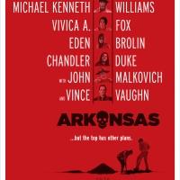 See the Official Teaser Poster for ARKANSAS Starring Liam Hemsworth, Clark Duke, & Mo Photo