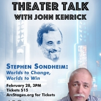 Arc Stages Presents THEATER TALK WITH JOHN KENRICK Photo