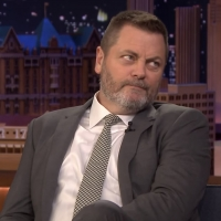 VIDEO: Nick Offerman Talks Resting Empathy Face on THE TONIGHT SHOW WITH JIMMY FALLON Photo