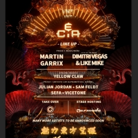 China's C.E.A. Festival Launches with Headliners Martin Garrix, Dimitri Vegas & Like  Photo