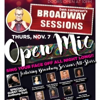 Broadway Sessions Offers Fall Open Mic with Special Broadway Guests