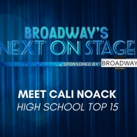 Meet the Next on Stage Top 15 Contestants - Cali Noack