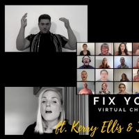 VIDEO: Kerry Ellis and The Choir Project Manchester Sing 'Fix You'
