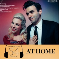 WATCH: Joe Iconis and Lauren Marcus in 'Love Letter' on #54BelowAtHome at 6:30pm! Photo
