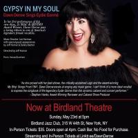 May 23rd GYPSY IN MY SOUL: DAWN DEROW SINGS EYDIE GORME Moves to Birdland Theater Photo