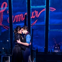 MOULIN ROUGE! Welcomes 70 Students to Today's Matinee in Honor of its 100th Performan Photo