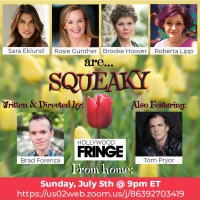 Brad Forenza's SQUEAKY Streams Via The Hollywood Fringe This Sunday