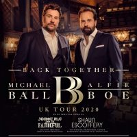 Michael Ball and Alfie Boe Announce Special Guests Johnny Mac & The Faithful and Shau Photo