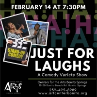 Center for Performing Arts Bonita Springs Has Announced the Lineup for JUST FOR LAUGHS VALENTINE'S SHOW