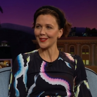 VIDEO: Maggie Gyllenhaal Talks Adventurous Eating on THE LATE LATE SHOW Photo