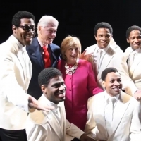 Video: Bill And Hillary Clinton Stop By AIN'T TOO PROUD On Broadway Photo
