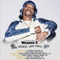 Snoop Dogg Announces UK Arena Tour