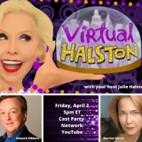 BWW Previews: Comedy Times Three When Harris and Hibbert Join Halston, Virtually, on  Photo