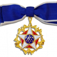 Presidential Medal Of Freedom Awarded To Martha Raye For Her Service To The Troops To Be Auctioned