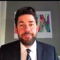 VIDEO: John Krasinski Shares 'Some Good News' Including a Mini THE OFFICE Reunion wit Video